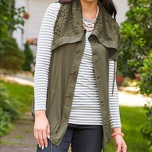 Matilda Jane Ambitious You Cape Vest Size Medium